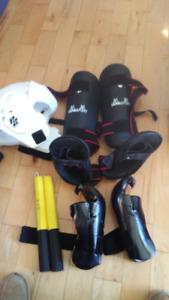 Équipements de combat de karaté