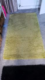 Lime green rug ( carpet)