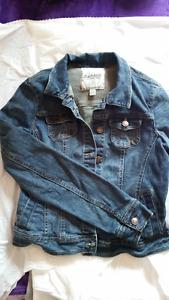 "Ladies ""Garage"" brand Jean Jacket - Size Small"