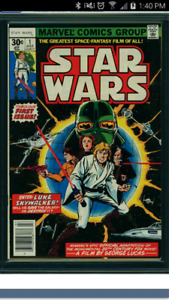 I AM LOOKING TO BUY STAR WARS #1 COMIC BOOKS