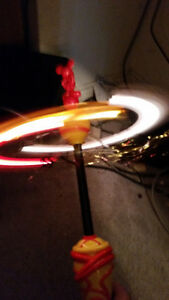 MICKEY MOUSE SPINNING LIGHT UP TOY WORKS PERFECT ONLY 9$........ London Ontario image 3