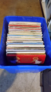 Assorted Vintage Christmass Vinyl records