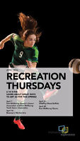 Recreation Thursday with women and youth soccer