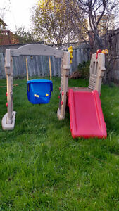 A gentle used play set