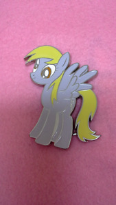 My Little Pony belt buckle. Derpy