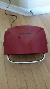 George Foreman Plate Grill - Red