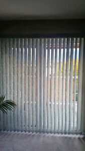 Verticle Blinds - excellent condition