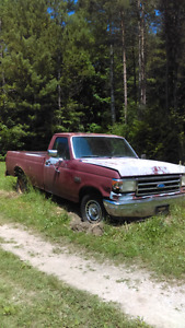 91 Ford F150 Great Restoration Project . Make me an offer