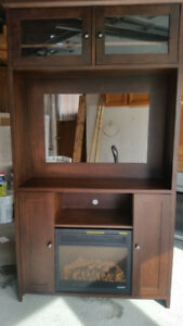 TV Cupboard (Solid Wood) (Negotiable)