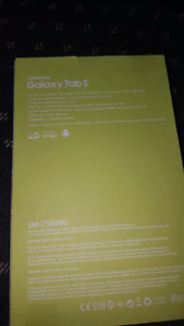 Brand new Samsung tab E sealed in the box