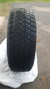 255/60/ 90 Blizzak Tires- Like new
