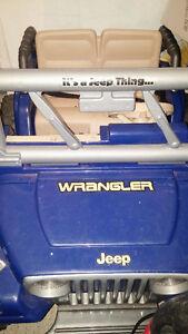 Jeep à batterie