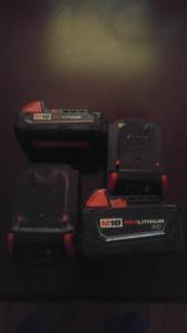 Milwaukee M18 Batteries