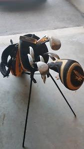 MacGregor Golden Bear Golf Clubs and Bag