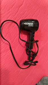 CONAIR sport tiny hairdryer great for travel