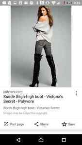 Victoria Secret thigh high boot size8 Reduced Windsor Region Ontario image 1
