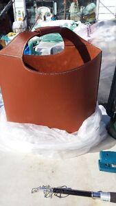 GENUINE HARD LEATHER BAG new price