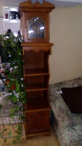 Grandfather clock old a must  see mint condition