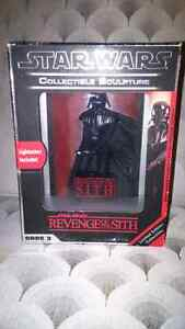 Star Wars Revenge of the Sith, code 3 collectable 3-D sculpture