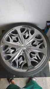 18 inch Lexani chrome rims $500!!