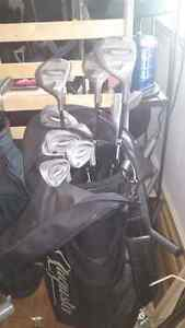 2 golf club sets and bags