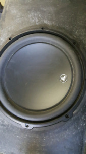 "Amazing 10"" JL Audio Subs in box !!!"
