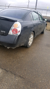 2002 2.5 nissan altima for sale asap moving out of town.