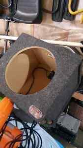 12 inch sealed sub box bass slammer