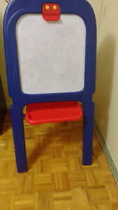 Crayola Easel Chalk  & Magnetic White Board