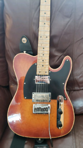 Guitare lutherie Groleau Style telecaster