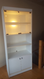 DISPLAY CABINET WITH LIGHT 450-812-7012