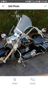2012 Harley Davidson Road King touring bike