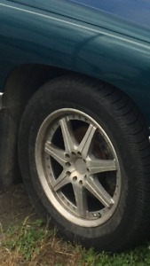 4x mag  5 bolt universelle 225/60r16 5x115