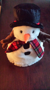 Snow man singing,light up dancing hat.Frosty the snow man song