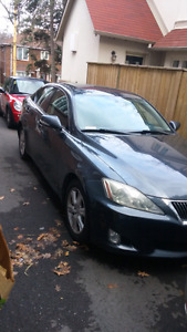 Lexus IS250 - standard transmission