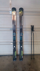 2013 Foreign Experience 98 skis w/ Salomon Guardian 16 bindings