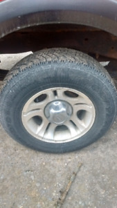 Ford ranger winter tires and rims