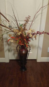 flower Vase with Artificial flower for Home Decor