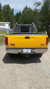 2000 Ford F-150 yellow Pickup Truck