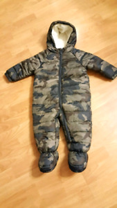 Snow Suit Camo 6 to 12 months
