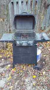 """""""Backyard Grill"""" BBQ, Propane Tank and Cover"""