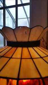 Beautiful stained glass hanging light Cambridge Kitchener Area image 2