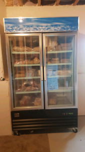 Kelvinator commercial display fridge