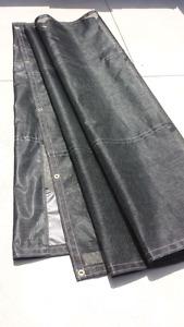 Mesh tarp for dump truck 7'x18'
