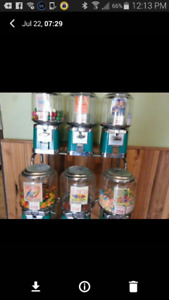 Bulk Candy Vending Route for Sale