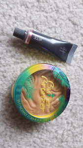 Bite beauty and PF butter bronzer