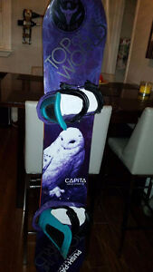 Capita Birds of a Feather + Switchback bindings