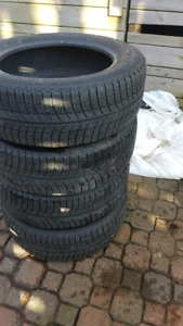 Michelin X-ice 215/60r17 ONE SEASON on!! Like new!