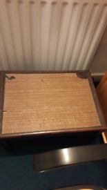 Small coffee table.