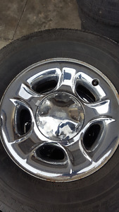 17 X 7.5 Tires and Rims - Salmon Arm